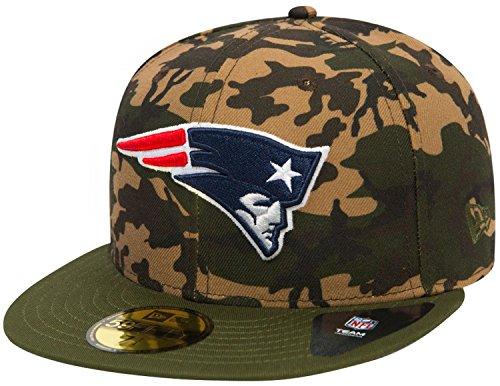 New Era Herren Caps / Fitted Cap Camo Team New England Patriots 59Fifty camouflage 7 1/2 - 59,6cm -