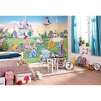 Komar Disney Princess Castle Wallpaper Mural, Vinyl, Multi Colour, 8 Piece Part 71