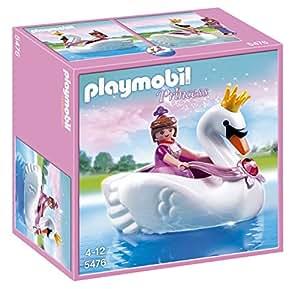 Playmobil Princess 5476 - Princesse Avec Bateau De Cygne