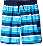 Adidas Men's Big & Tall Stripe Swim Trunk Volley de l'eau, Marine, 4x/grand/grande