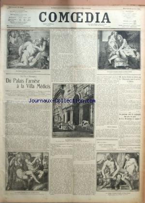 COMOEDIA [No 4054] du 23/01/1924 - LA VIE A L'...