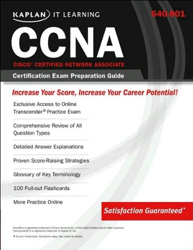 640-801 Cisco Certified Network Associate (CCNA) Certification Exam Preperation Guide (Kaplan IT Learning S.) por Kaplan IT Learning