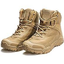 FREE SOLDIER Botas de Escalada para Hombre de Media Caña, con Cordones, duraderas y