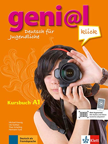 Geni@l klick A1 Kursbuch Per la Scuola media Con CD Audio: geni@l klick a1, libro del alumno + cd (ALL NIVEAU ADULTE