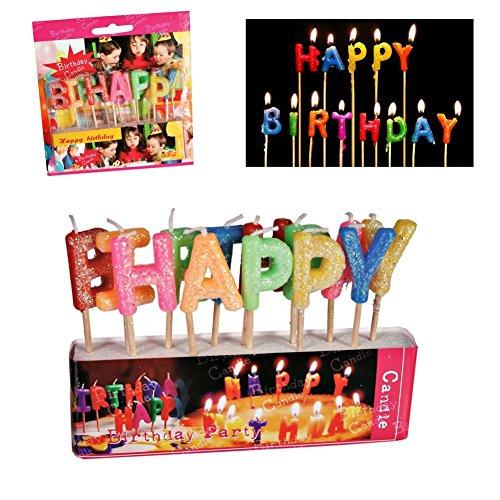 Candele di buon compleanno