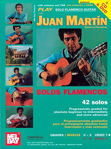 Juan Martin: Play Solo Flamenco Guitar With Juan Martin Vol. 1 +CD+DVD