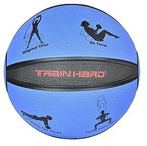 TrainHard Medizinball Gewichtsball 1kg 2kg 3kg 4kg 5kg 6 kg 7kg 8kg 9kg 10kg...