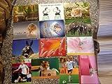 10er Postkarten Set diverse Verlage immer tolle wechselnde Motive Natur Herz Tiere Haus Sprüche Sheepworld Fussball zum TOP PREIS!!!!