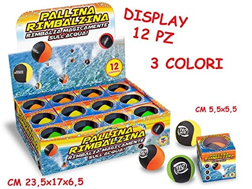 Preisvergleich Produktbild Merchandising - Pallina Rimbalzina Sull'Acqua 56 Mm (Assortimento) (1 Accessorie)