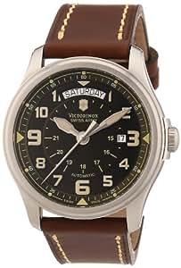 Victorinox Herren-Armbanduhr XL Classic Analog Leder 241396