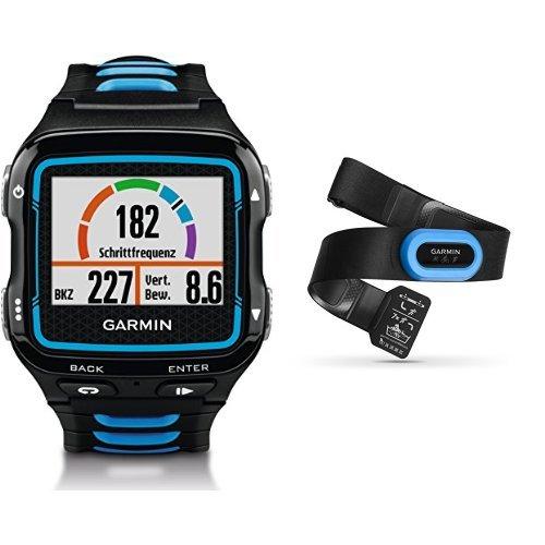 garmin-forerunner-920xt-gps-triathlon-multisport-nero-blu-hrm-tri-fascia-cardio-per-nuoto-corsa-e-ci