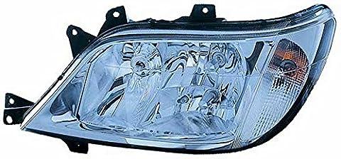 Phare Lumière lampe frontale gauche H3-h7-h7avec phare spot ampoule de brouillard avec commande électrique réglable Mercedes Sprinter à partir de 08/2002à 03/