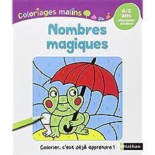 Coloriages Malins - Nombres Magiques MS