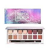 Paleta de sombras de ojos, angmile mate smoky Shimmer–Purpurina Eyeshadow Primer 14colores paleta de maquillaje cosméticos