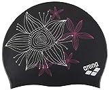 arena 91440-26-NS Sirene Molded Silicone Badekappe Handdraw/Black