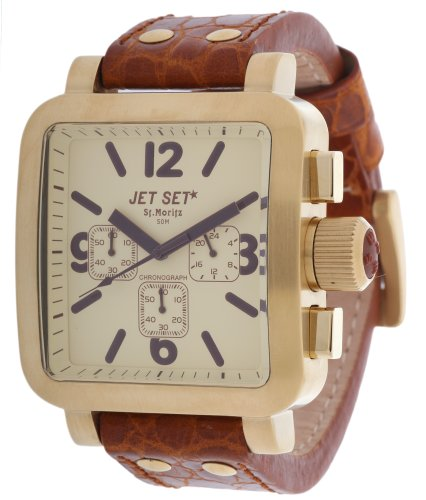 Jet Set Men Watch St. Moritz Chronograph brown J37597-716