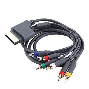 3-Chinch Videokabel für Xbox 360 Fernsehkabel Scart Kabel