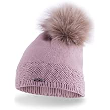 e78624c3ed8 PaMaMi Ladies Thermal Winter Hat for Women Warm Beanie Universal Size
