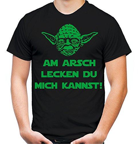 Yoda Spruch T-Shirt | Star Wars | lustige | Darth | Zitate | Sith | Vader | Männer | Herren | Fun | Kult | Film | Am Arsch (M, ()