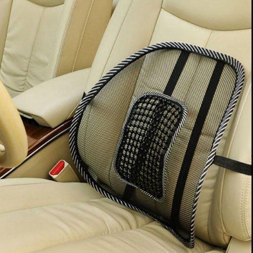 nabati Massage Lordosenstütze Rückenstütze Rückenkissen für Autositz oder Bürostuhl