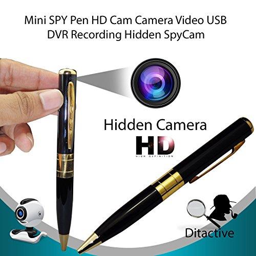 ddellk Versteckter Kamerastift, DV-DVR-Cam-Recorder-Stift Videokamera Eingebautes Mikrofon CMOS-Sensor-Camcorder Hidden Camera Camcorder Dvr