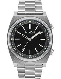 Nixon Reloj Analogico para Hombre de Cuarzo con Correa en Acero Inoxidable A1176-2474-