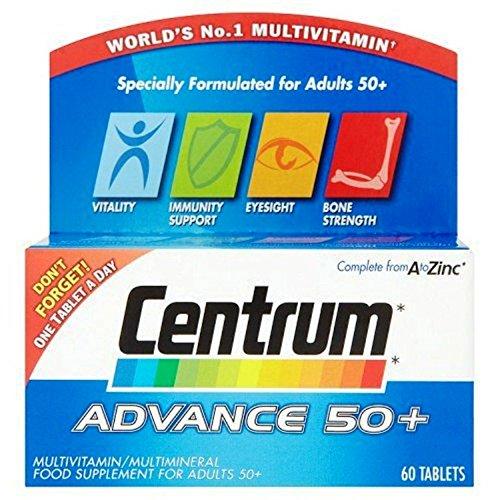 Preisvergleich Produktbild Centrum Advance 50 Plus - Pack of 30
