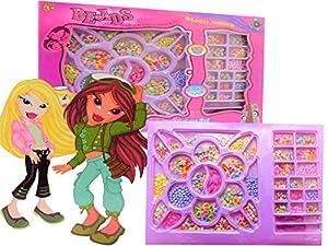 Allkindathings - Juego de Abalorios creativos para niñas, diseño de Juguetes