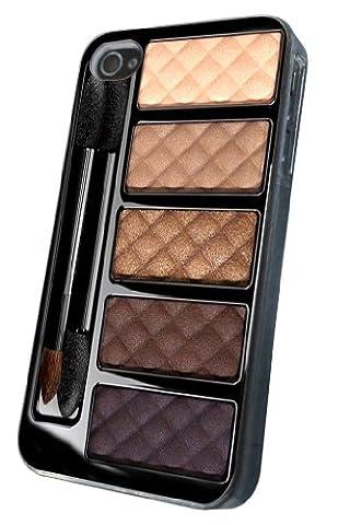 Coque iphone 4/4S motif palette de maquillage design coque de