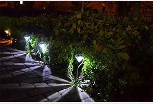 Solaire Clôture LumièresExtérieur Mur Lumière DEL Jardin Step Patio Chemin de sécurité pour