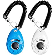 EcoCity 2-Pack Dog Training Clicker with Wrist Strap