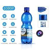 SANNCE 1080P HD Cámara oculta espía botella de agua(grabación de vídeo potable botella de movimiento cámara de...