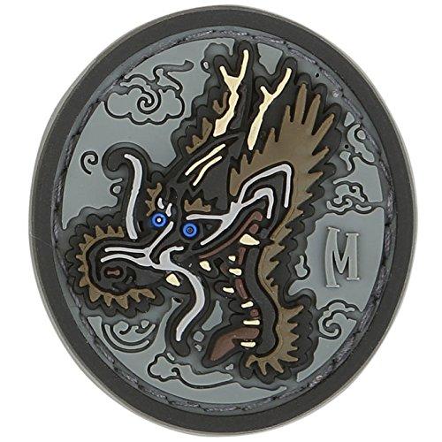 Maxpedition Dragon Head 1.23 x 1.36 Patch, SWAT (Taktische Swat Messer)