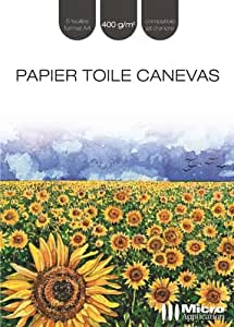 Papier Toile Canevas