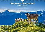 Rund um Oberstdorf (Wandkalender 2018 DIN A4 quer): Anschauliche Bilder von Oberstdorf (Monatskalender, 14 Seiten ) (CALVENDO Orte) [Kalender] [Apr 04, 2017] G. Allgöwer, Walter
