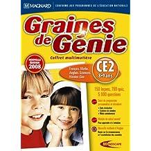 Graines de génie - coffret multimatiere 2008 : CE2 (8-9 ans)