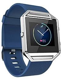 12shage Correa de Reloj Reemplazo Correa de Reloj Deportivo de Silicona Correa de Reloj Banda smartwatch