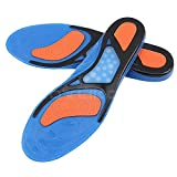 FITTOO Sports Gel Activ Insoles Arch Support for Feet Pain Relieve, Shock Balance