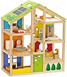 Hape All Season Doll's House (furnished)