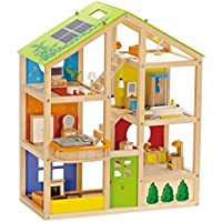 Hape HAP-E3401 All Season Doll's House (Furnished)