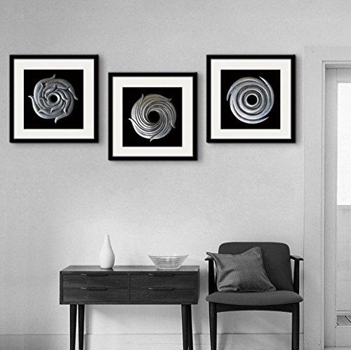 circulo-de-plata-marco-de-la-pintura-decorativa-pintura-de-la-pared-arte-pintado-oilcloth-comedor-do