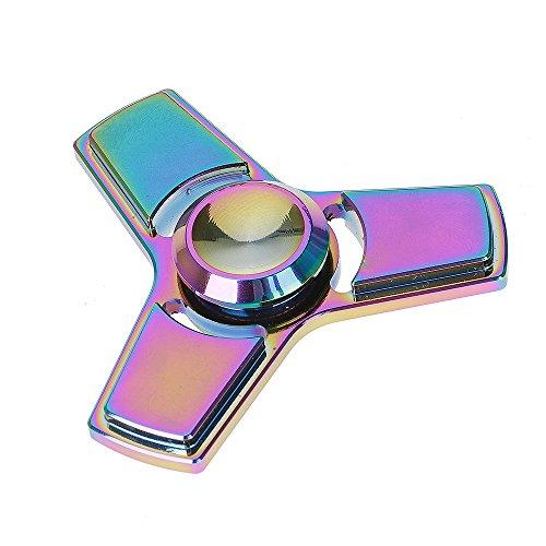 Airsson Hand Fidget Spinner EDC Focus Stress Reducer Spielzeug mit Keramik Lager für Erwachsene und Kind (Mehrfarbig) - 2