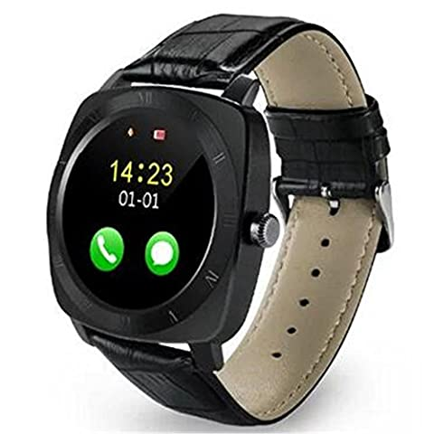 Joyeer Smart Watch New Fashion Watch Bluetooth Camera Mp3 Player SIM Phone Watch Pedometer Fitness Tracker Clock Wristwatch Sleep Monitor Smartwatch for Android IOS , black