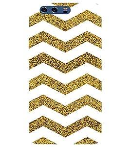 For Huawei P10 zigzag line ( zigzag line, pattern, zigzag pattern, zigzag ) Printed Designer Back Case Cover By TAKKLOO
