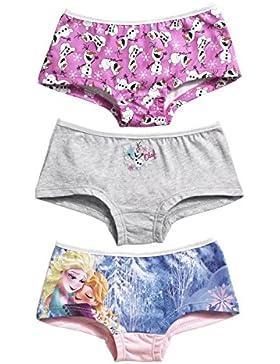 Mädchen eingefroren 3 Paket Unterwäsche, unterhosen.