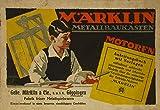Märklin Metallbaukasten Motoren Anleitungsbuch mit Vorlagen (Nr. 71)