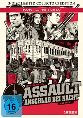 Assault - Anschlag bei Nacht (3 Disc Collectors Edition Mediabook) [Blu-ray] [Limited Collector's Edition] [Limited Edition]
