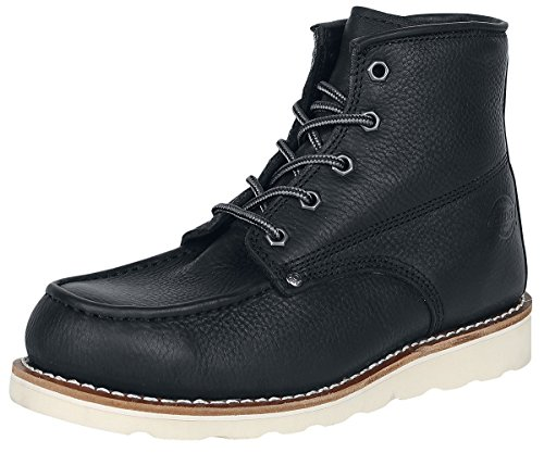 Dickies Herren Kurzschaft Stiefel Illinois Black (Schwarz)