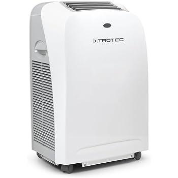 TROTEC Lokales mobiles Klimagerät Klimaanlage PAC 2000 S mit 2 kW / 7.000 Btu, EEK A Geeignet für Räume bis 65 m³