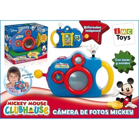 IMC Toys 180482 Mickey Mouse Club House - Cámara de fotos de juguete, color azul